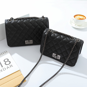 Image 1 - crossbody bags for women channels shoulder bag woman bags 2019 bag handbag fashion handbags women Diamond Lattice