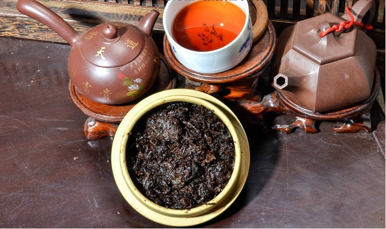 250g premium 40 years old Chinese yunnan puer tea puer tea pu er tea puerh China slimming green food for health care wholesale