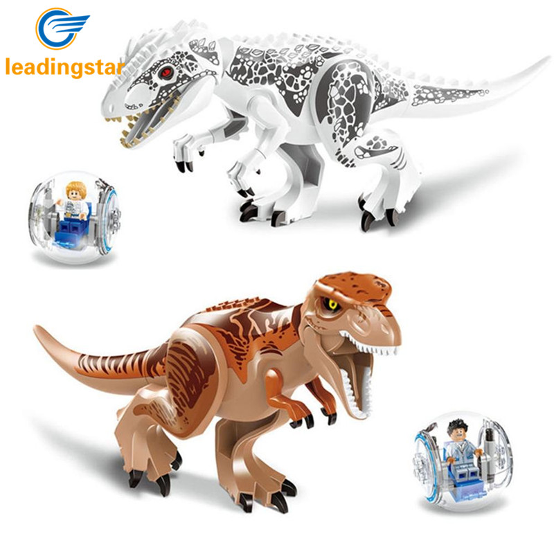 LeadingStar Jurassic World Educational Dinosaurs Toys Model Puzzle Assembling for Kids Gifts - Random Delivery ZK30 dayan gem vi cube speed puzzle magic cubes educational game toys gift for children kids grownups