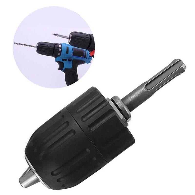 2-13MM Drill Chuck Keyless Drilling Adapter Converter SDS Adaptor Hardware Hammer Drill Chuck Tool Accessories