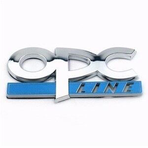 Image 2 - 3D المعادن OPC ملصق شعار شارة صائق ل أوبل Mokka كورسا ميرفا زافيرا أسترا J H G فيكترا انتارا شارة