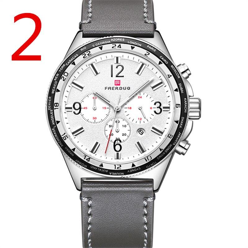 In 2018, new men quartz watch, high-quality outdoor sports men's wristwatch strap, fashion business watch,