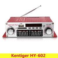 Kentiger HY 602 Mini Portable HiFi Stereo Power Digital Amplifier With FM IR Control FM MP3