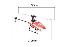 Image 3 - Wltoys XK K110 6CH 3D 6G di Controllo Remoto Sistema di Motore Brushless RC Elicottero giocattolo Con Trasmettitore Compatibile Con FUTABA s FHSS