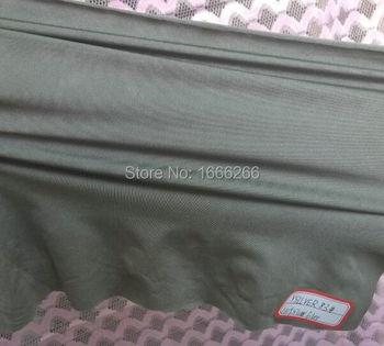 Silver fiber antistatic elastic fabric