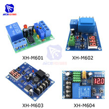 XH-M601 XH-M602 XH-M603 XH-M604 Lithium Battery Charging Protection Board Switch Controller Module DC 12V 3.7-120V 24V 6-60V(China)
