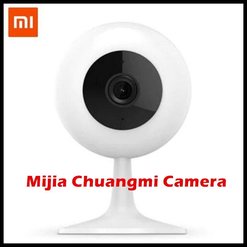 Xiao mi xiaobai Smart webcam versión popular 360 ángulo 720 p HD Visión Nocturna inalámbrica WiFi IP webcam Casas inteligentes cam Chuang mi