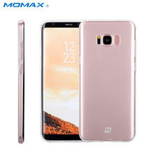 Momax Original Case for Samsung Galaxy S8 S8Plus Nature Transparent Clear Soft Silicon TPU Protector Case Cover for Samsung S8+