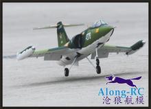 EPO uçak/RC uçak/RC modeli hobi oyuncak 70mm EDF spor JET uçak F 104 F104 (seti veya PNP seti) geri çekilebilir iniş takımı