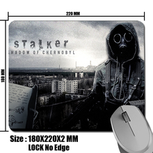 STALKER Game Game Gaming Mouse Pad Mat Mousepad as Gifts Wholesale large size Mouse Pad 250x300x2MM and Small size 180x220x2MM..