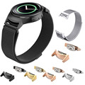Correa reloj aço inoxidável 2016 conector conectar 20mm watch band strap para samsung gear s2 rm-720 watch acessórios