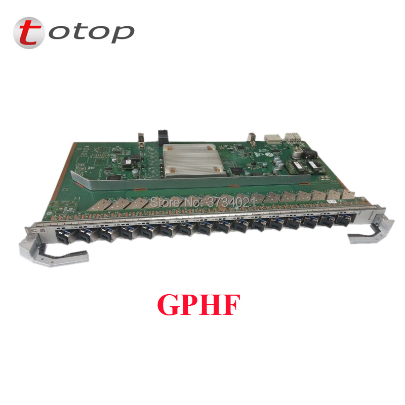 Original New Hua Wei 16Port GPON Card Board GPHF C++ SFP Modules 16ports GPON OLT Interface Board For MA5800-X7 MA5800-X17 OLT