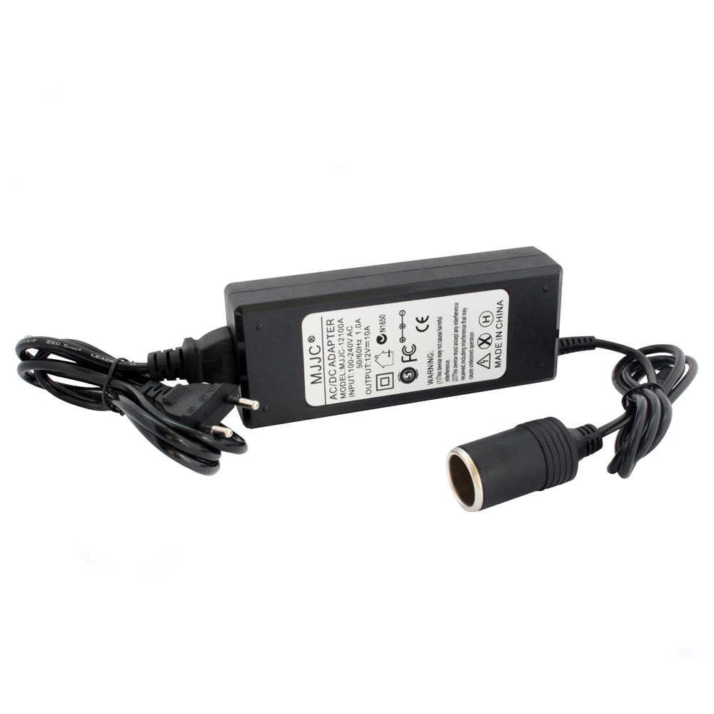 Auto Zigarette Leichter AC DC Power Converter Adapter 110V 220V zu 12V 5A 6A 7A 8A 10A netzteil Schalter Beleuchtung Transformator
