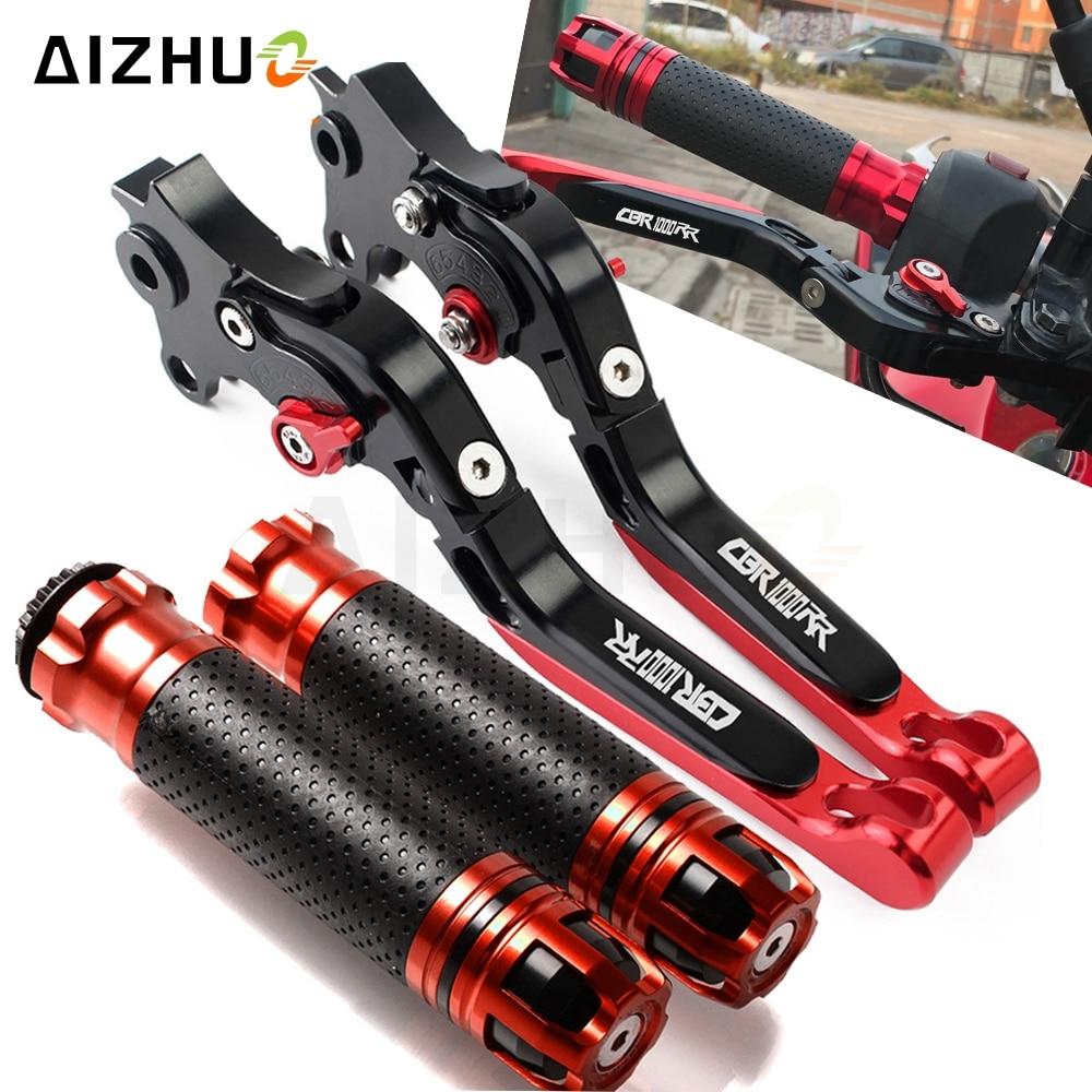 Motorcycle Clutch Brake Lever Extendable Adjustable Hand Grip Handlebar For HONDA CBR1000RR CBR 1000 RR 2004 2005 2006 2007