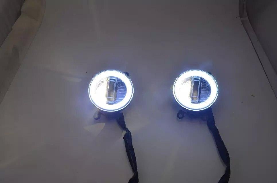 DRL фары дневного света + ангельские глаза + ксеноновая лампа для RENAULT, для Сузуки-Альто, сплеш, Тойота, для Nissan, для спот Ровер