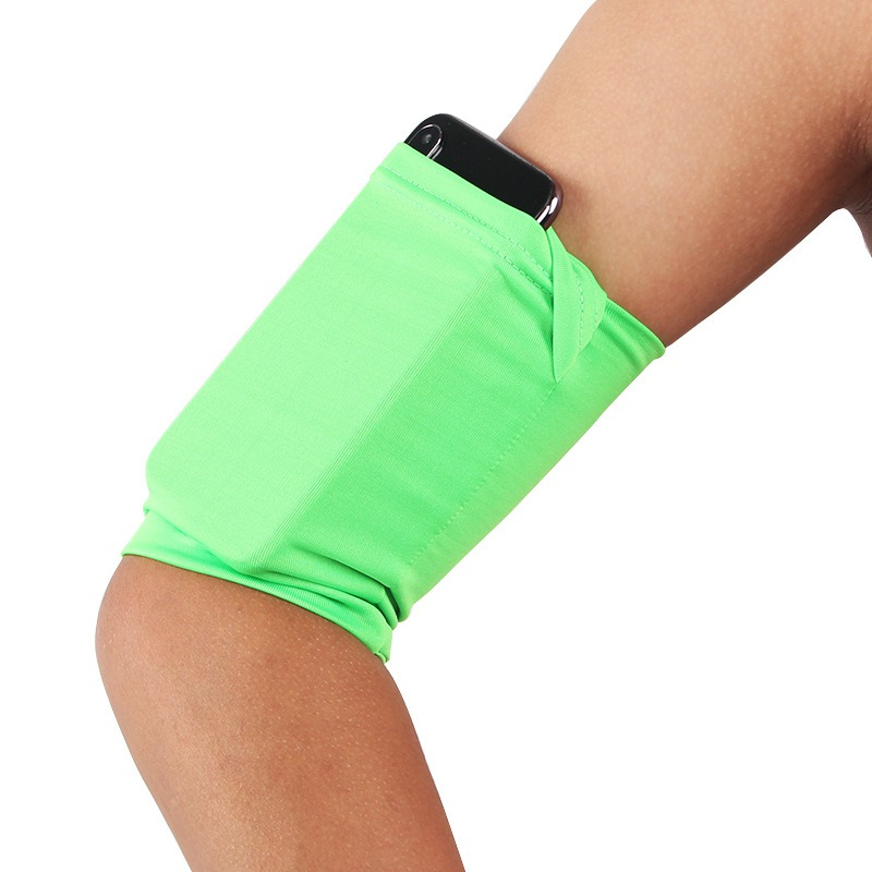 Cell Phone Bag Armband Outdoor Running Universal Mobile Phone Case Bag Hight Elastic Breathable Jogging Arm Band Cellphone