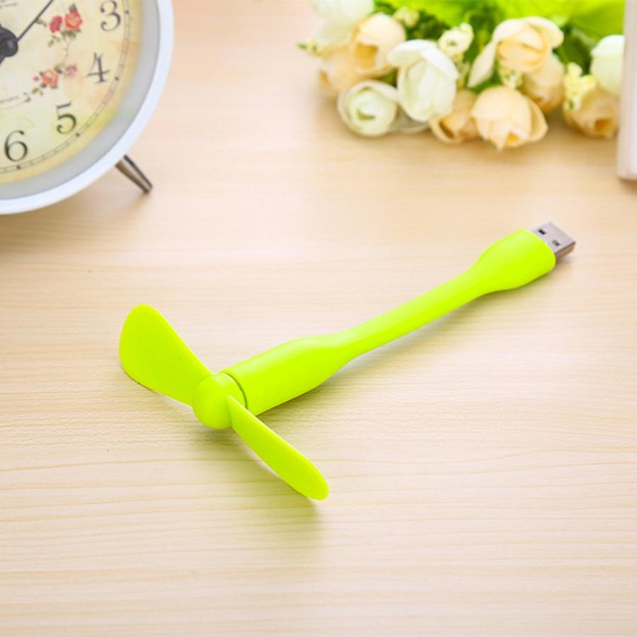 Mini ftohës portativ fleksibël USB për ftohje, Cute Cool Colourful - Pajisje shtëpiake - Foto 6