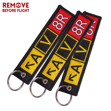 Wholesale Motorcycle Keychain Bijoux Keychains for Cars llaveros Embroidery Key Fobs OEM ATV Car Chains 3 PCS/LOT