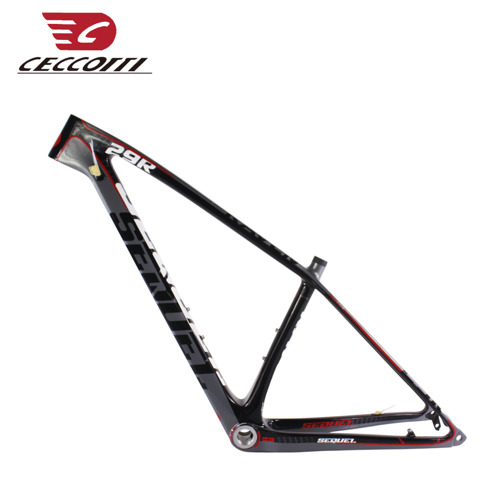 2019 T1000 mtb quadro de carbono 29er de carbono quadro de bicicleta de carbono mountain bike quadro de carbono SEQUELA marca