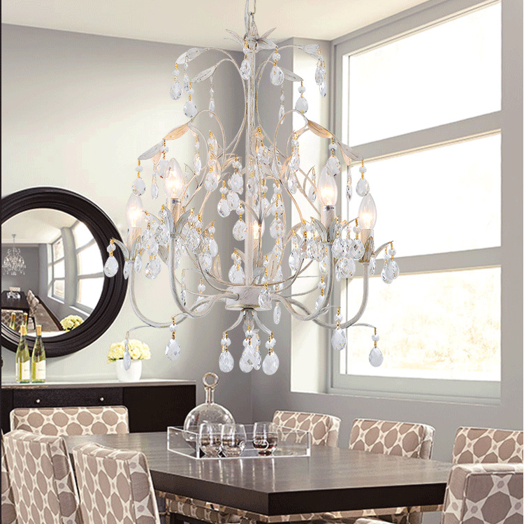 new High grade iron branch living room pendant light country study dining room bedroom lamp Nordic Crystal high grade antique tiffany lamp natural agate jade art decorative hanging lamp bedroom study room