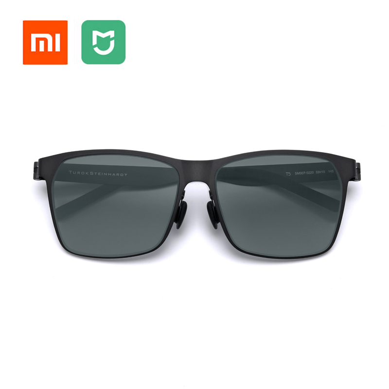 Original Xiaomi Mijia Customization Men Women TS Nylon Polarized Sunglasses Ultra-thin Lightweight Designed For Outdoor Travel