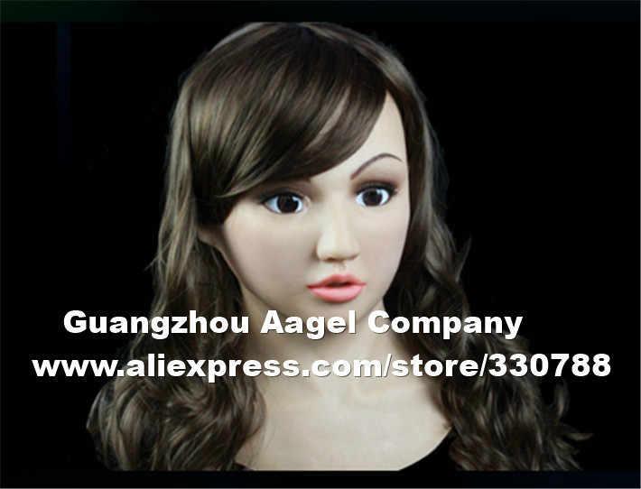 SF-10 высококачественные силиконовые женские маски для мужчин, Трансвестит, вечерние маскарадные маски для продажи, маска с человеческим лицом