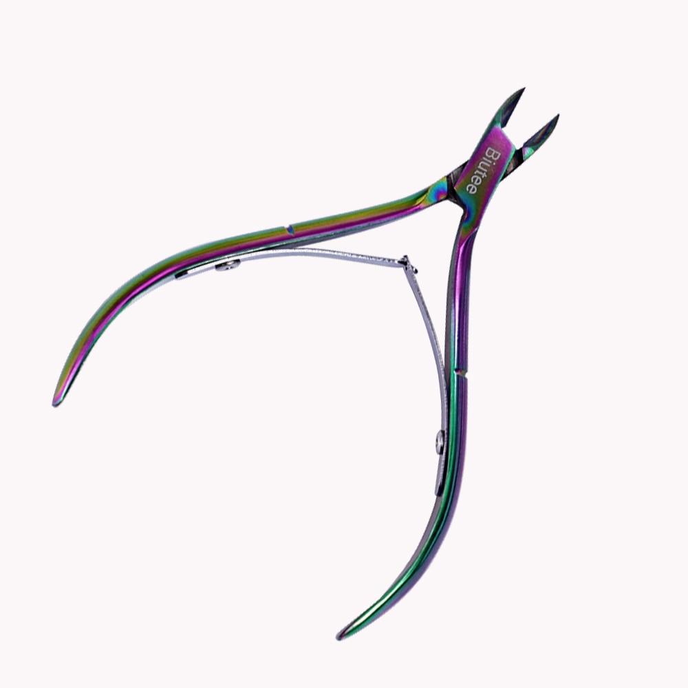 1PC Biutee Nail Cuticle Nipper Rainbow Clipper Ұстағыш Dead - Маникюр - фото 2