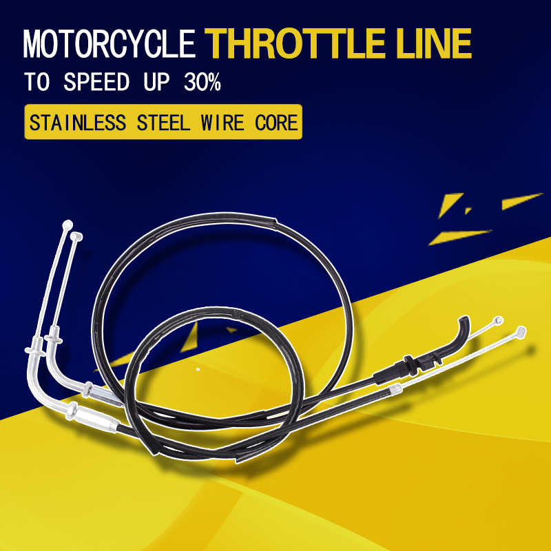 throttle cable oil return line oil extraction wires for kawasaki zzr400 zzr  400 motorcycle accessories