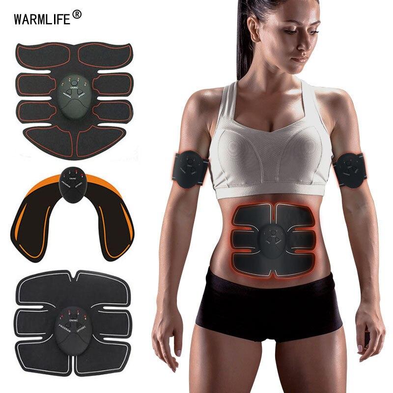 20 PCS Glomab Almohadilla de Gel Hoja de Gel de reemplazo de ABS para estimulador Muscular Repuestos para Dispositivos de m/úsculos Abdominales