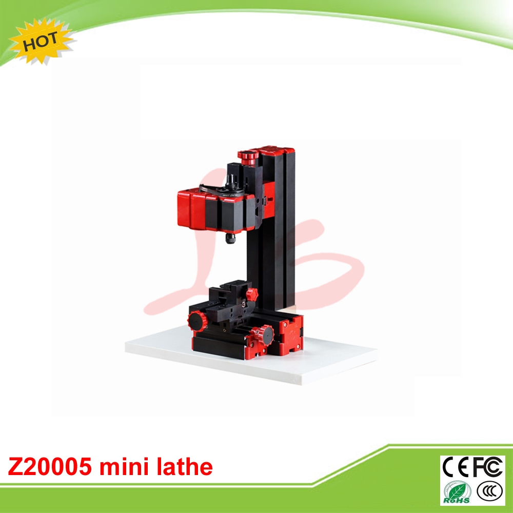 Mini lathe machine Z20005 mini Milling Machine for teaching and DIY adjustable double bearing live revolving centre diy for mini lathe machine
