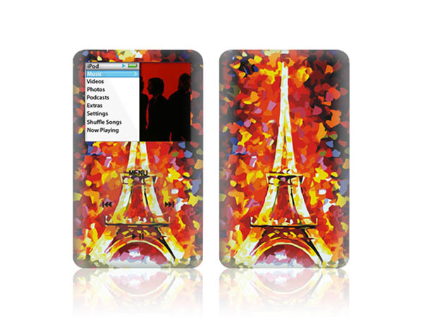 New product vinyl full body for iPod classic wrap cover skin sticker