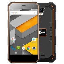 Ному S10 мобильный телефон 5000 мАч 5 дюймов 4 ядра 2 ГБ Оперативная память 16 ГБ Встроенная память MTK6737T Android 6,0 смартфон 8.0MP 1280×720 IP68 Водонепроницаемый