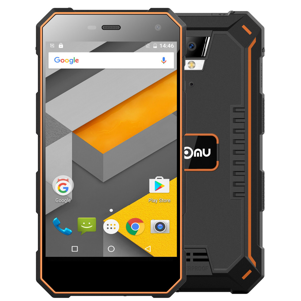 Nomu S10 Teléfono Móvil 5000 mAh 5 Pulgadas Quad Core 2 GB MTK6737T RAM 16 GB RO