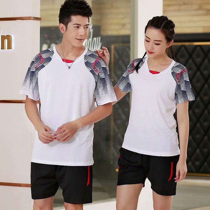 New Table Tennis Clothing Badminton Shirt Men Women Tenis de mujer Badminton Clothes Match Team Uniforms Sports Suit Sportswear