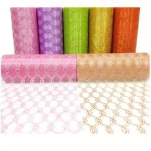 Fabric 15cm*9.2m Organza Sheer Gauze Tulle Roll for Christmas Supplies Wedding Decoration Chair Back Ribbon Birthday Gifts Decor(China)