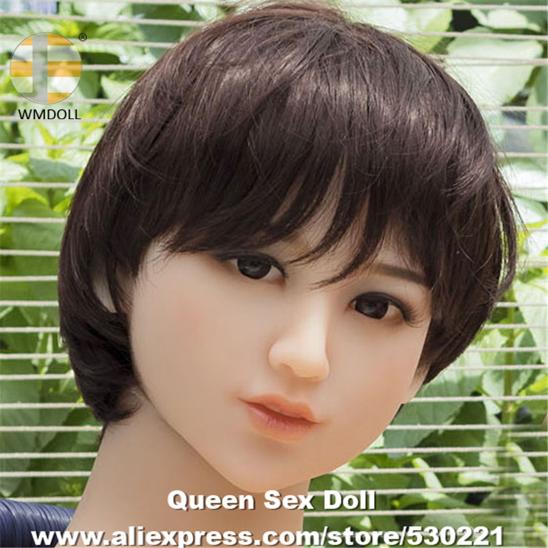 WMDOLL Top Quality TPE Head For Metal Skeleton Sex Doll Realistic Adult Love Doll Heads With Oral Sexy Realistic Sex Toys top quality oral sex doll head for japanese realistic dolls realdoll heads adult sex toys
