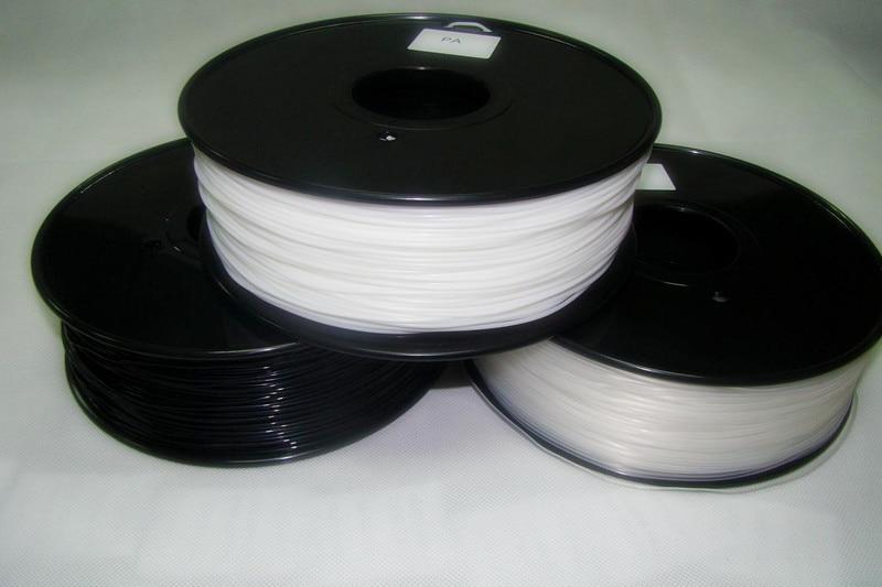 3d printer filaments PA(Nylon) 1.75mm 1kg/2.2lb Plastics Resin Consumables For MakerBot RepRap UP Mendel yellow color pla 1 75mm 1kg spool 3d printer filaments for makerbot reprap up golden