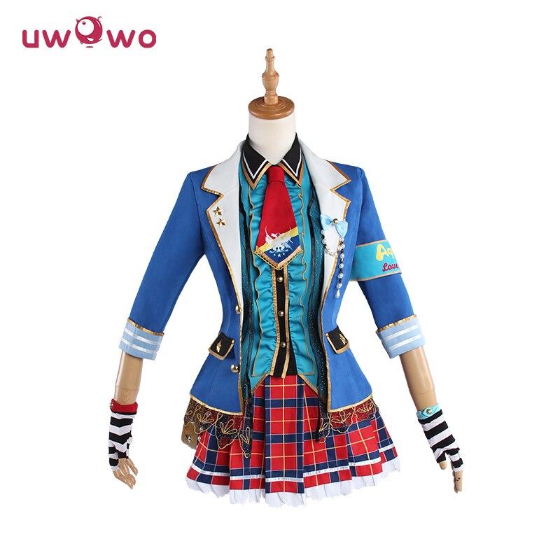 Watanabe You Cosplay Lovelive Sunshine Aours UR Idolized Uwowo Costume