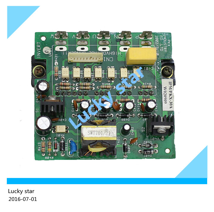 95% new used for Air conditioning Power module frequency conversion board IPM-PKX-30A good working 7 units ipm frequency conversion velocity modulation module mubw25 12a7 25a1200v