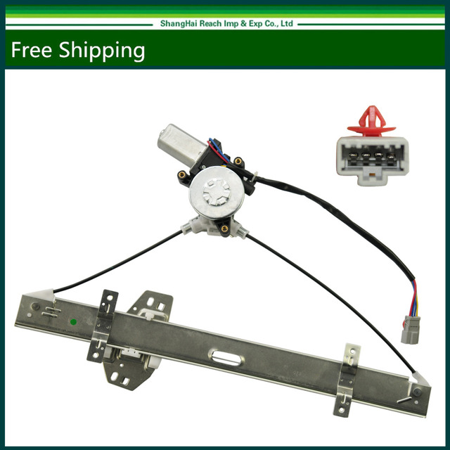 New Front Left Driver Side Power Window Regulator With Motor For Honda Accord Oe
