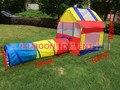 Bebé libre del envío juguete playhouse tubo del túnel carpa infantil Portátil super gran casa de juego de juguete