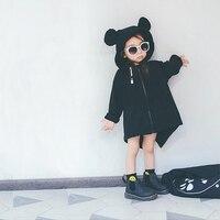 Enkelibb بابا لطيف الاطفال معطف الخريف ملابس جديدة للأطفال الأولاد البنات النمط الأوروبي الحيوان سترات الاطفال ملابس الموضة