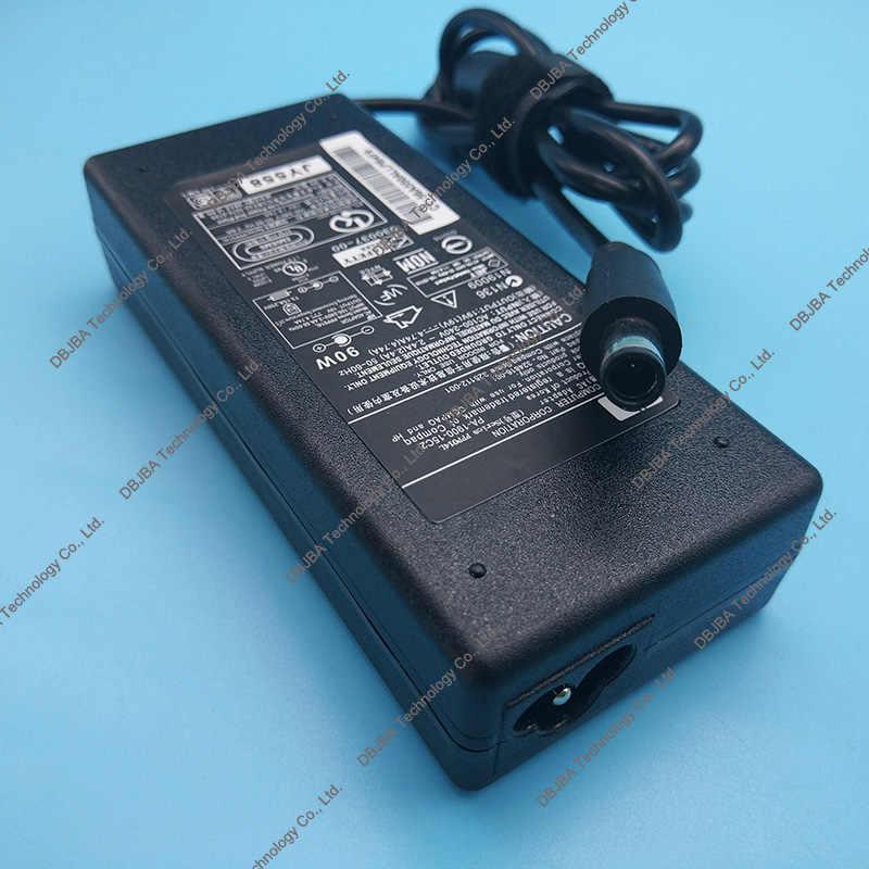 Фирменная Новинка Питание для hp ноутбука 19 V 4.74A 7,4*5,0 мм AC зарядное устройство для адаптера для hp павильон DV7 DV5 DV6 dv6-1040ED