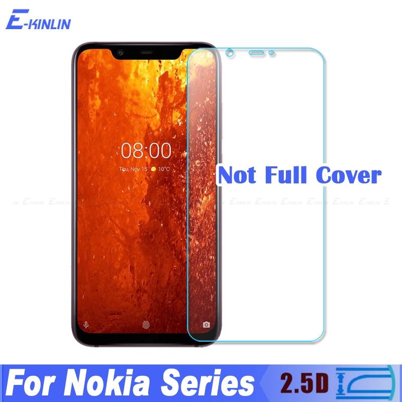 Screen Protector Tempered <font><b>Glass</b></font> For <font><b>Nokia</b></font> 8.1 7.1 <font><b>6.1</b></font> 5.1 4.2 3.2 3.1 2.2 2.1 9 PureView 8 7 6 2018 5 3 2 1 Plus Protective Film image
