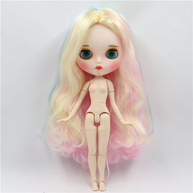 factory blyth doll BL1327 Light Pink hair white skin JOINT