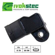 Новые Тип Boost давление MAP сенсор для IVECO Stralis Trakker EuroCargo Holland Fiat 0281006102 504372225 55219299