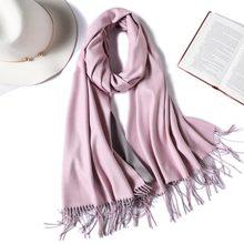 4c5f26b8c697 2019 marque d hiver écharpe pour femmes mode double côté couleurs dame  écharpes en cachemire pashmina châles et wraps chaud band.