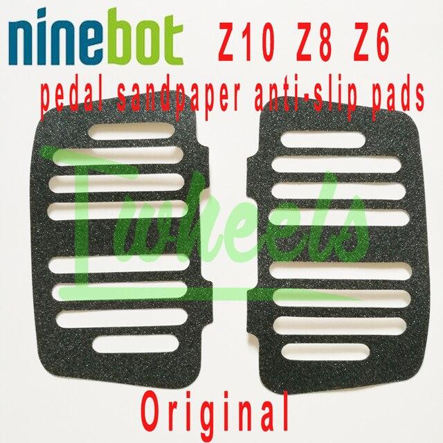 Ninebot Z10 Z8 Z6 pedal papel de lija almohadillas antideslizantes monociclo eléctrico de espaã a