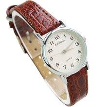 Haute Qualité Marque Femmes Montres De Luxe Femmes En Cuir D'affaires Montre Élégante Robe Quartz Montre Relojes Marque Horloge