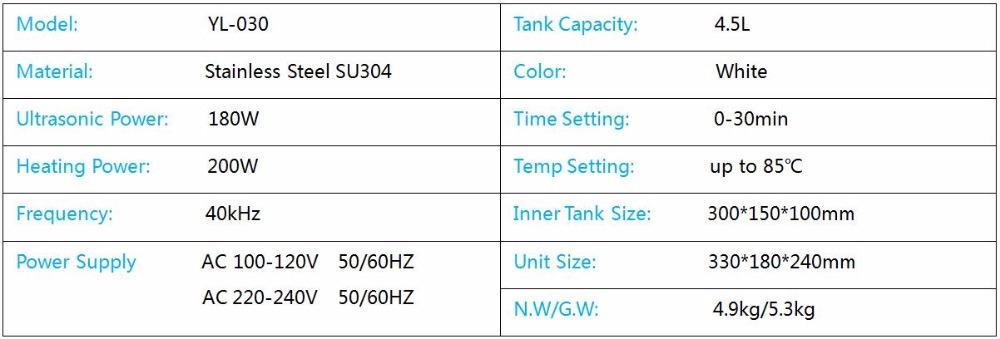 Ultrasonic Hardware Glassware Bath 2